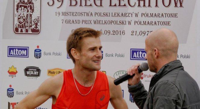 Adam Nowicki zwyciężył w Biegu Lechitów