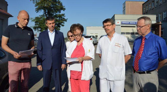 Lekarze o zarzutach dyrekcji ZOZ