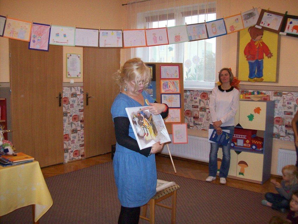 Spotkanie autorskie w przedszkolu