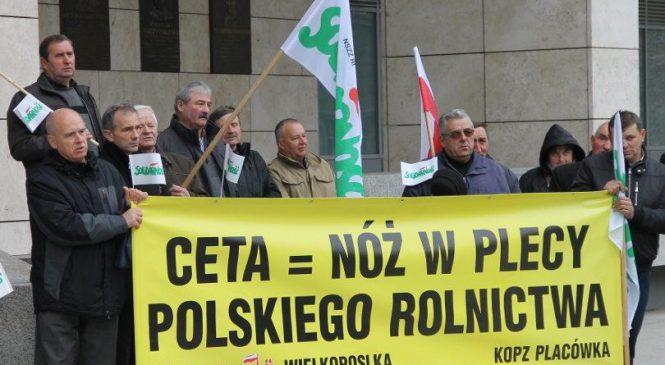 Rolnicy przeciwko CETA