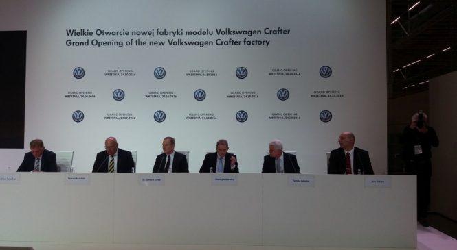 Volkswagen rozpoczął działalność