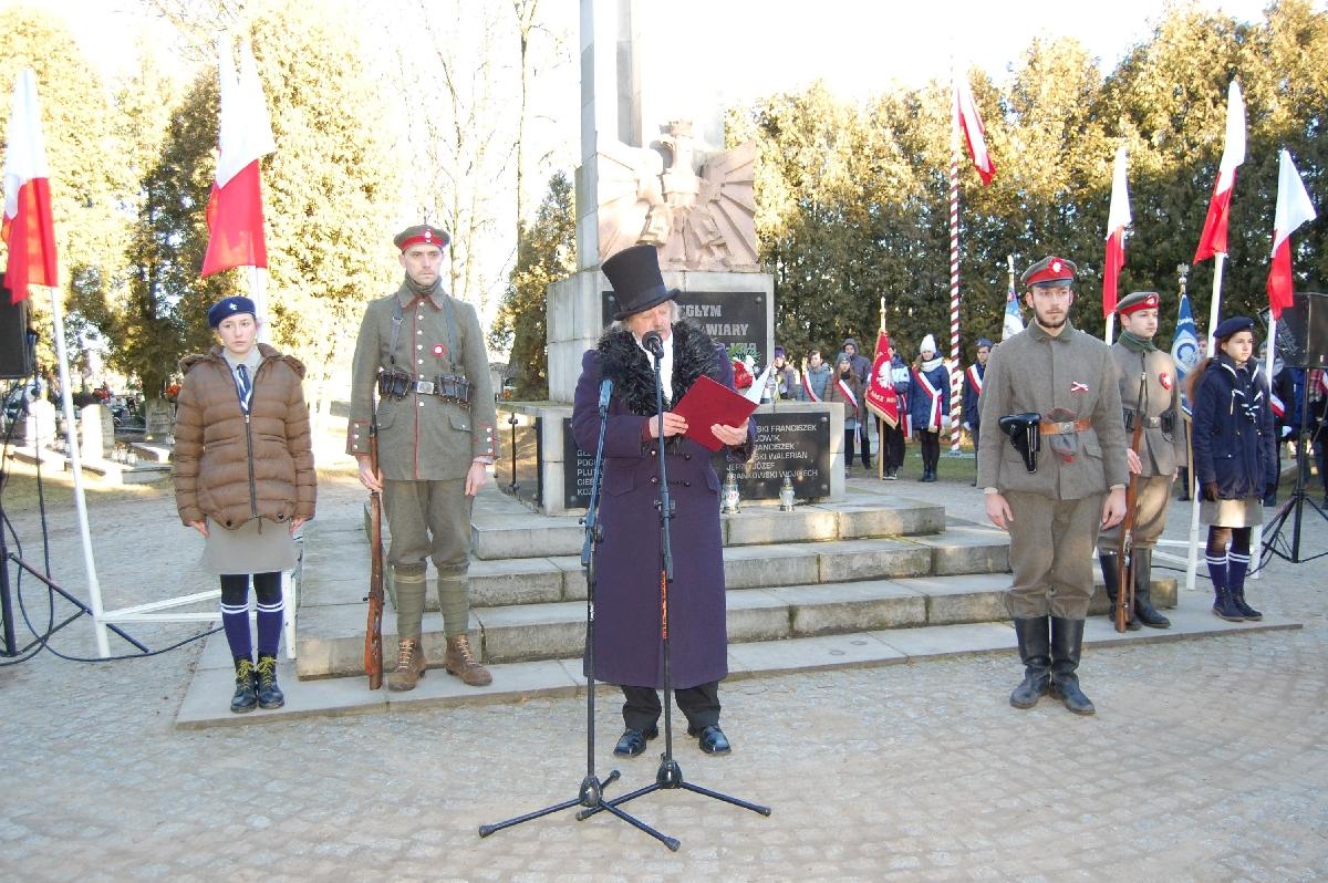 Niech żyje Polska wolna, zjednoczona…
