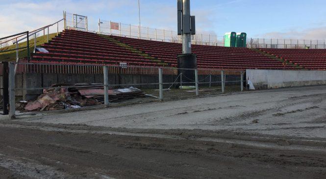 Prace na stadionie przy Wrzesińskiej