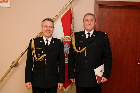 Zmiana kierowniczej warty we wrzesińskiej Straży Pożarnej
