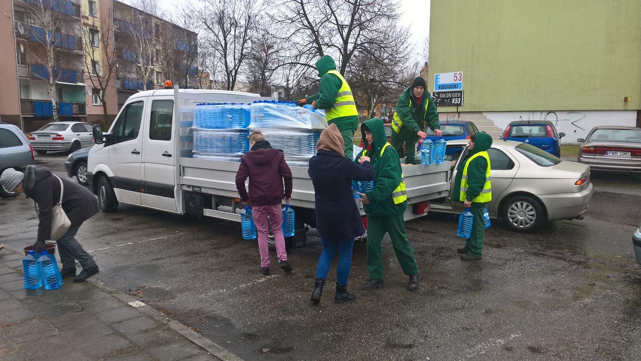 Skażona woda w rejonie trzech ulic we Wrześni