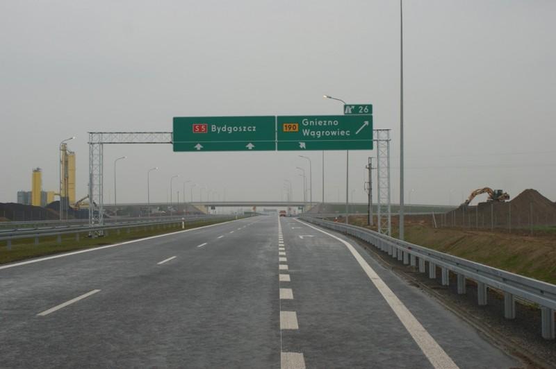 Następny odcinek drogi S5 otwarty. Jesteśmy bliżej Bydgoszczy i morza