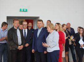 Sprzątanie po nawałnicy, minister przyjechał do Gniezna