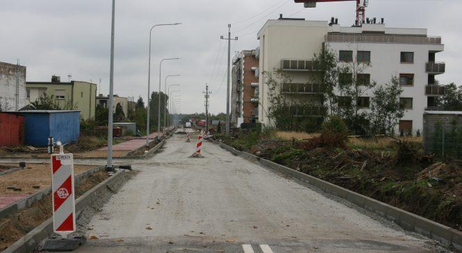 Września: inwestycje drogowe. Budowa ulicy Pilskiej z dofinansowaniem