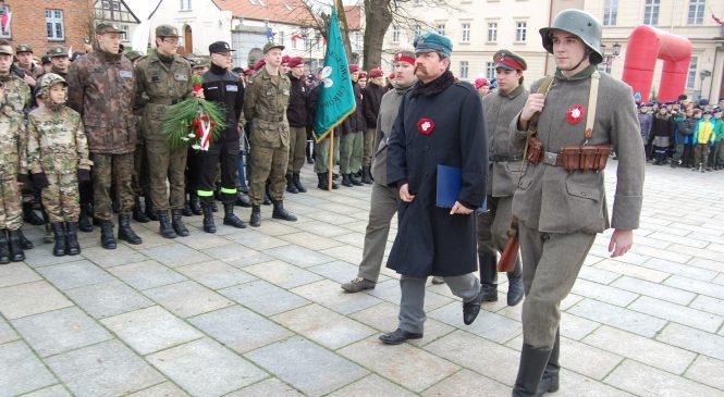 Rocznica odzyskania niepodległości w Gnieźnie