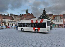 Darmowo i ekologicznie po Wrześni autobusem na wtyczkę