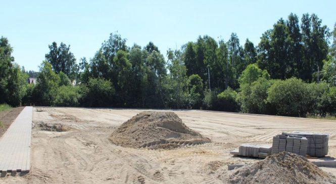 Trwa budowa boiska z Budżetu Obywatelskiego