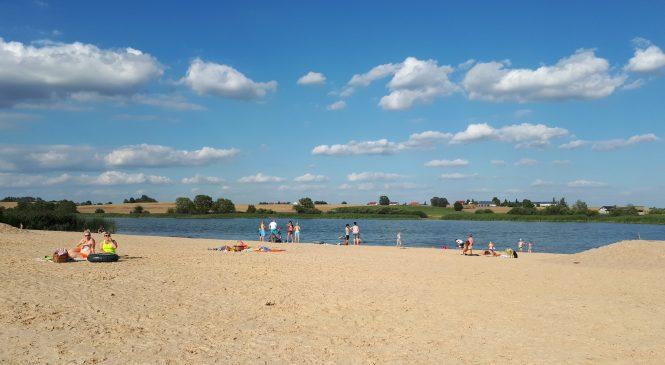 Nowa plaża w Rybnie Wielkim