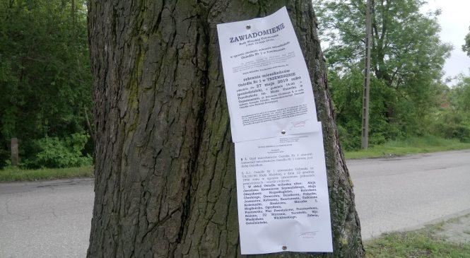 Umieszczanie ogłoszeń na drzewach jest niezgodne z prawem