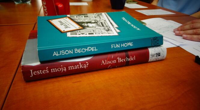 """Komiks dla dorosłych, rozmowa o """"Fun Home"""" Alison Bechdel"""