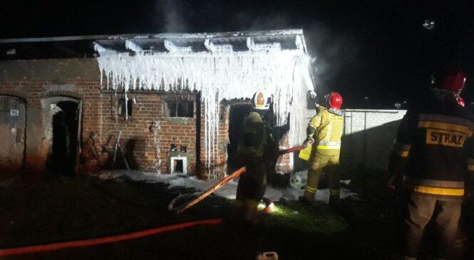 Podpalacz zatrzymany! Podłożył ogień pod dwa garaże i pomieszczenie gospodarcze,Czy podejrzany ma coś wspólnego z serią podpaleń?