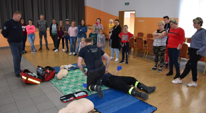 W Jarząbkowie szkolono się z udzielania pierwszej pomocy