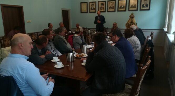 Spotkanie z rolnikami z Gniezna