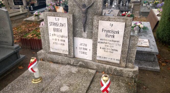 Szkoła Cechowa pamięta. Uczniowie uczcili pamięć mistrza dłuta Franciszka Burka