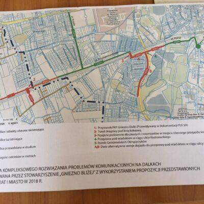 Czy w gminie Gniezno powstanie tunel drogowy pod linią kolejową?