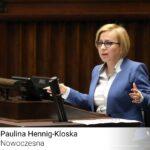 Polityczny transfer. Posłanka Paulina Hennig-Kloska zasila ugrupowanie Szymona Hołowni