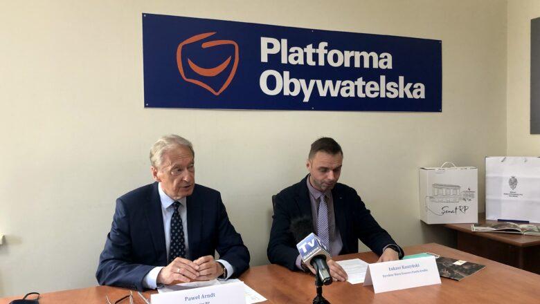 Senator napisał list do więzionej działaczki białoruskiej opozycji