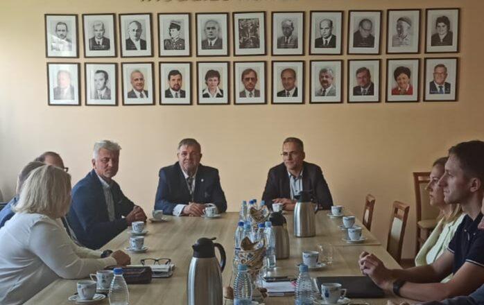 Wizyta delegacji miejskiej w Kartuzach, stolicy Kaszub