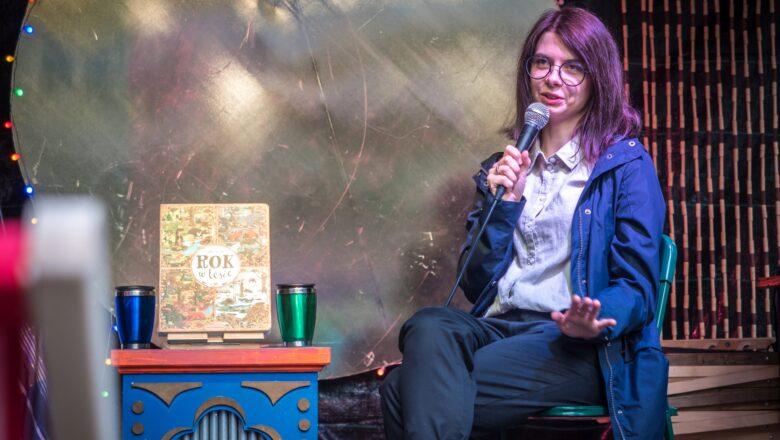 Książki nie tylko dla dzieci, czyli spotkanie z Emilią Dziubak
