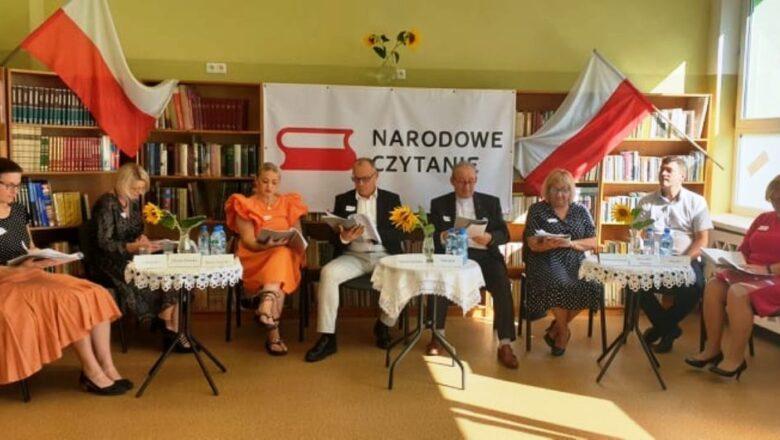 Narodowe czytanie w Kłecku