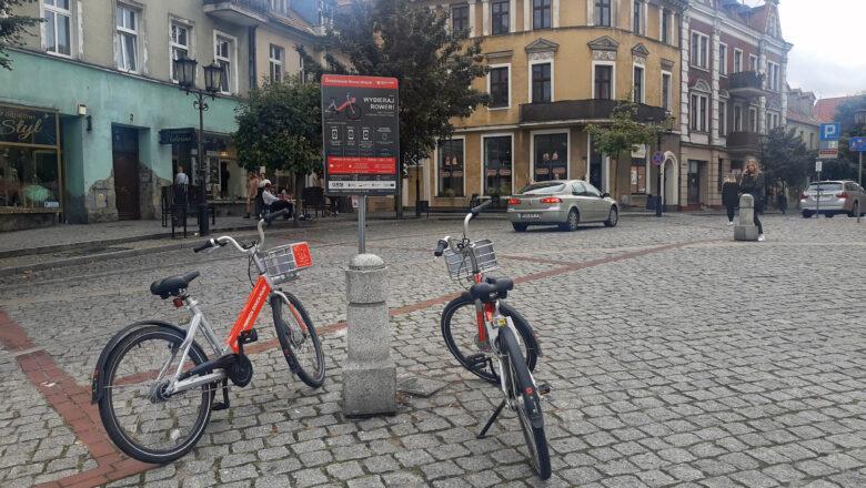 Gdzie najczęściej parkują i odbierają rowery miejskie gnieźnianie?